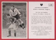 West Germany v Switzerland 1952 Morlock Nuremburg Casali Young Boys D24